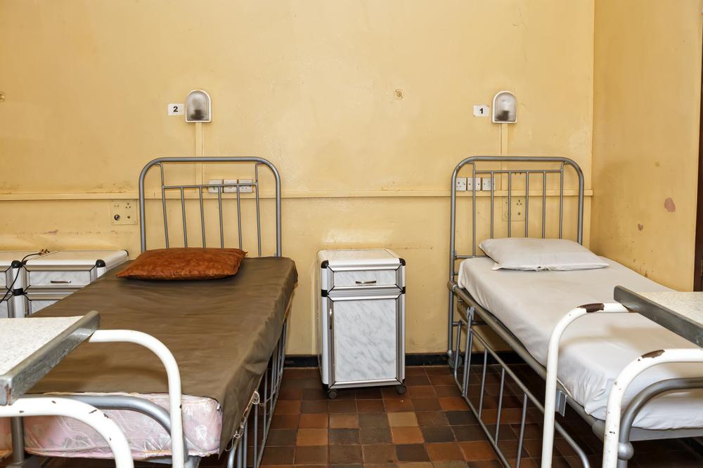 Sala szpitalna w Afryce zachodniej. fot. Shutterstock
