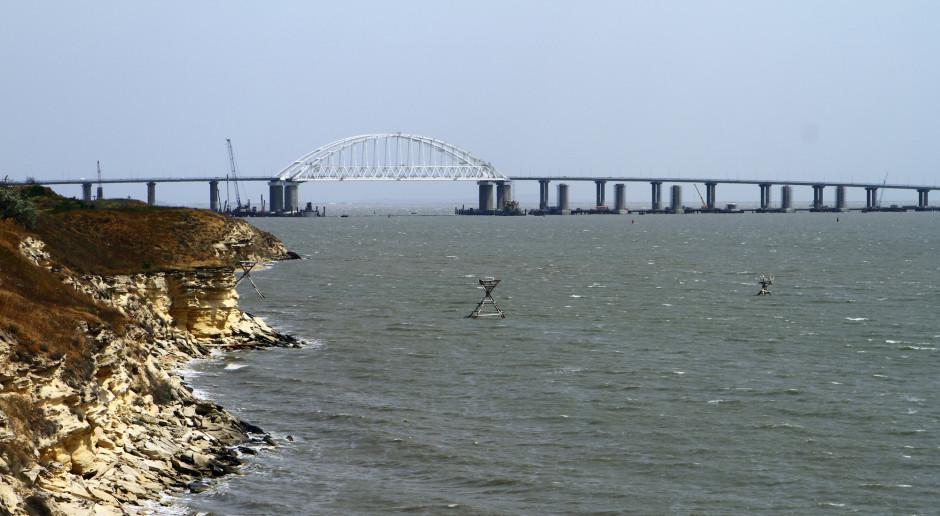 Rosyjska gwardia kupiła sprzęt do ochrony mostu na Krym