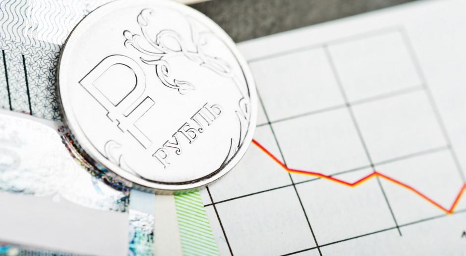 Kurs rubla spadł po incydencie z okrętami Ukrainy