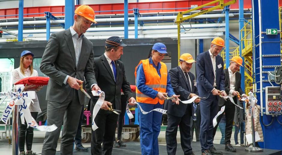 Alstom Konstal otworzył nową halę montażową w Chorzowie