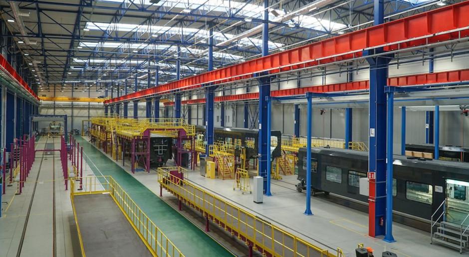 Polski Alstom całkiem zielony – zużywa energię z wiatru i wody kupowaną u Taurona