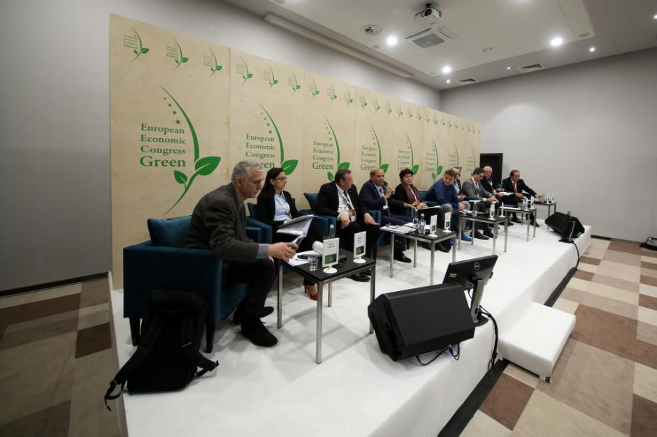 European Economic Congress Green. Sesja: Kryzys wodny. W poszukiwaniu rozwiązań. Katowice, 5 grudnia 2018 r. Zdjęcia PTWP (Michał Oleksy)