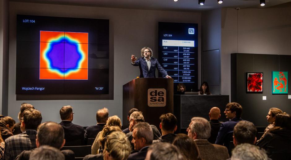 Rekordowy rok na polskim rynku handlu dziełami sztuki