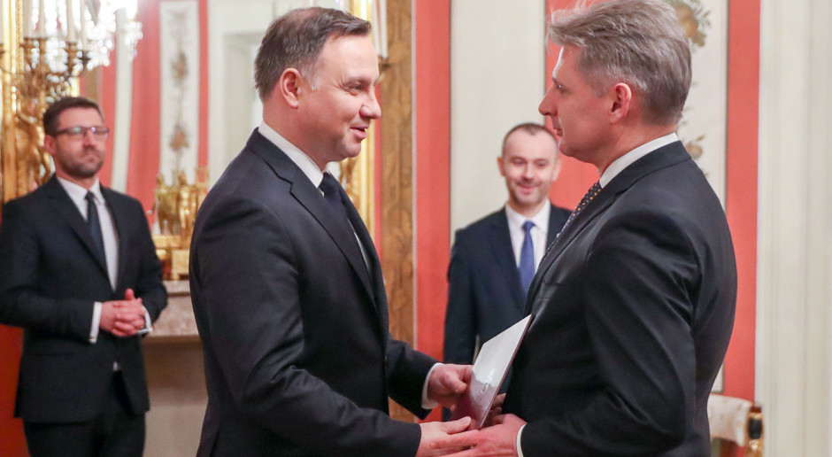 Cezary Kochalski nowym przedstawicielem prezydenta w KNF