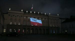 Andrzej Duda oddał hołd górnikom specjalną iluminacją