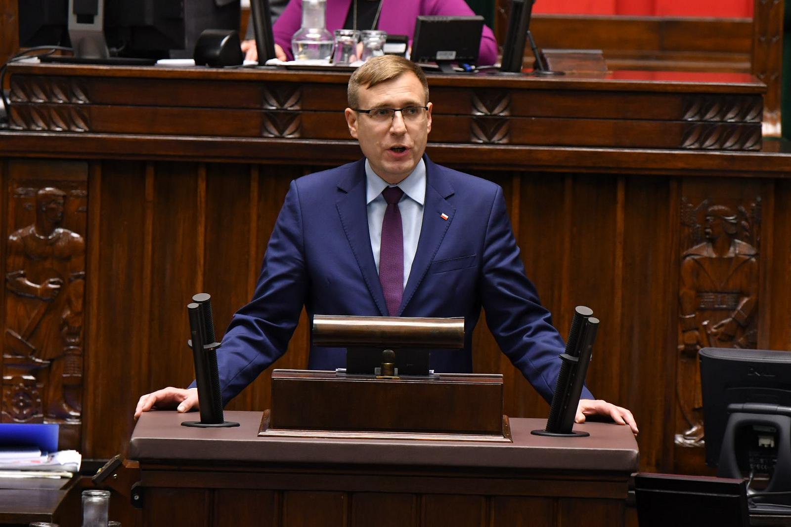 Maciej Małecki, sekretarz stanu w Ministerstwie Aktywów Państwowych ( Fot. mat. archiwum)
