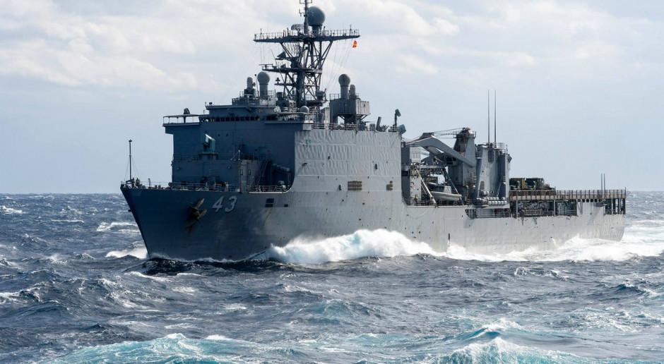Amerykański okręt desantowy wpłynął na Morze Czarne