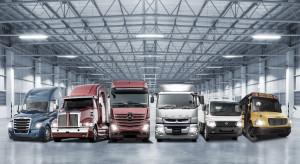 Świetny rok ciężarówek Daimlera