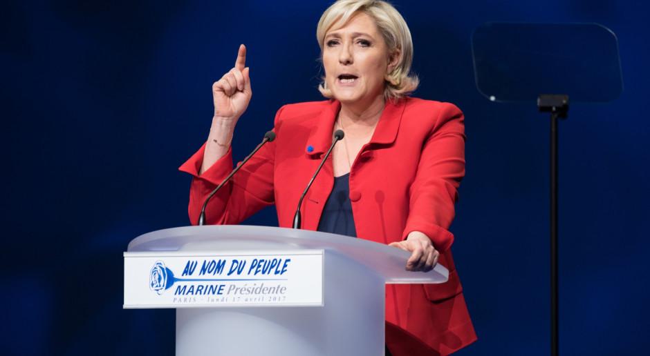 Marine Le Pen porzuca projekt wyprowadzenia Francji ze strefy euro