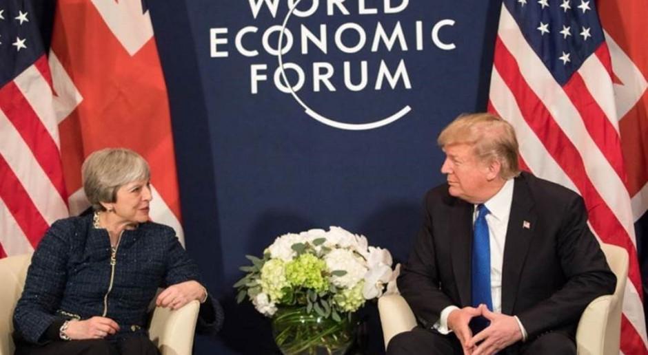 Donald Trump odwołuje wyjazd do Davos. Zabraknie też Theresy May i Emmanuela Macrona