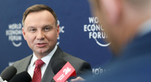"""Andrzej Duda będzie promował Polskę w Davos. """"Konkurencyjne miejsce do inwestowania"""""""