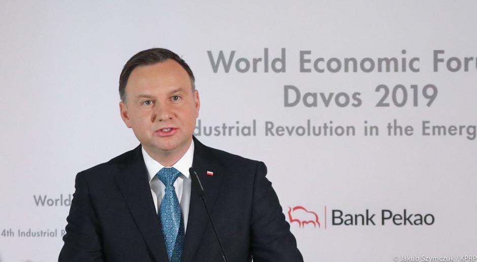 Andrzej Duda: polityczna skuteczność zależy od innowacji