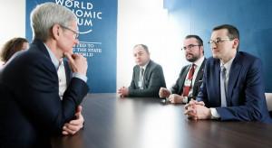 Mateusz Morawiecki rozmawiał z szefem Apple o inwestycjach w Polsce