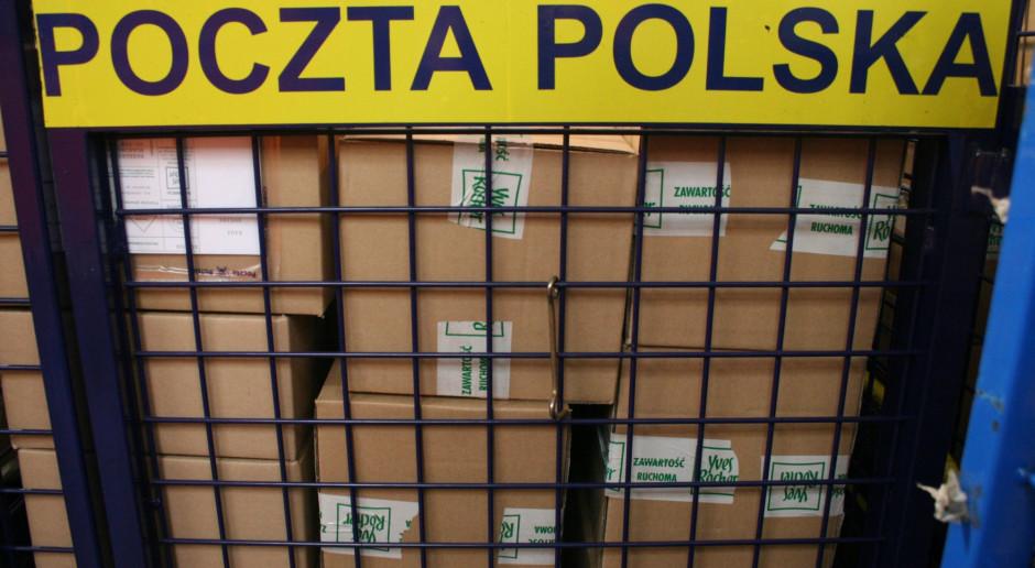 Poczta Polska chce podwoić przychody z rynku paczkowego