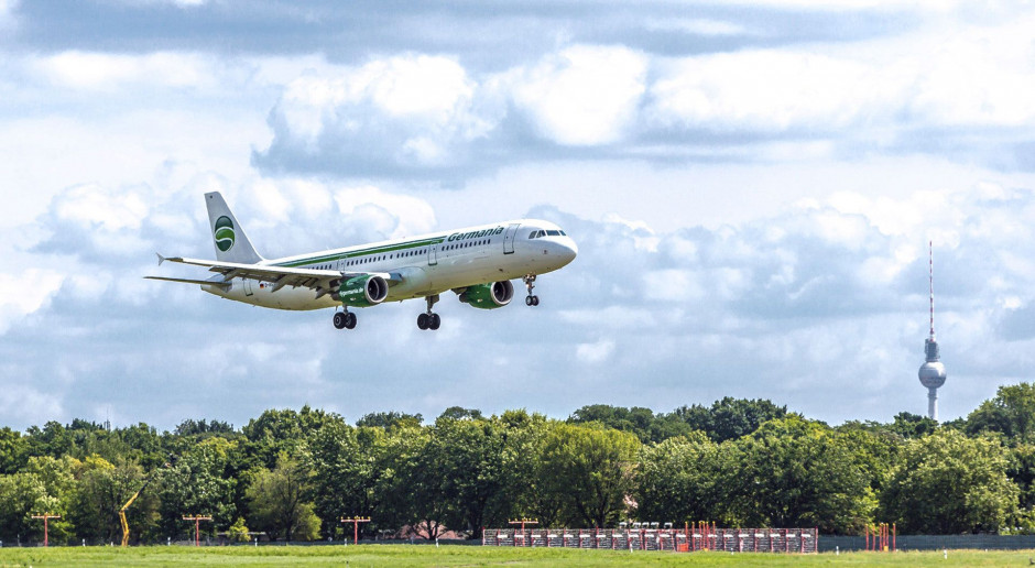 Linie lotnicze Germania przerwały działalność