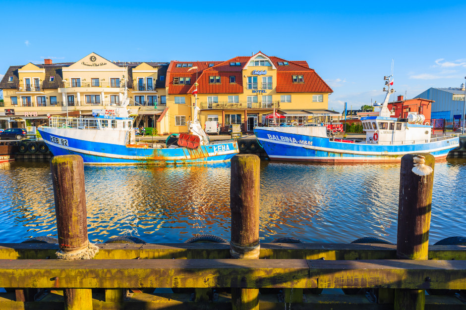 Port Łeba. Fot. Pawel Kazmierczak / Shutterstock.com