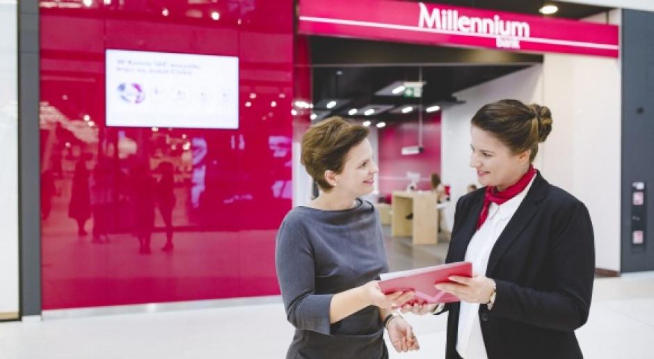 Rekordowy zysk netto Banku Millennium
