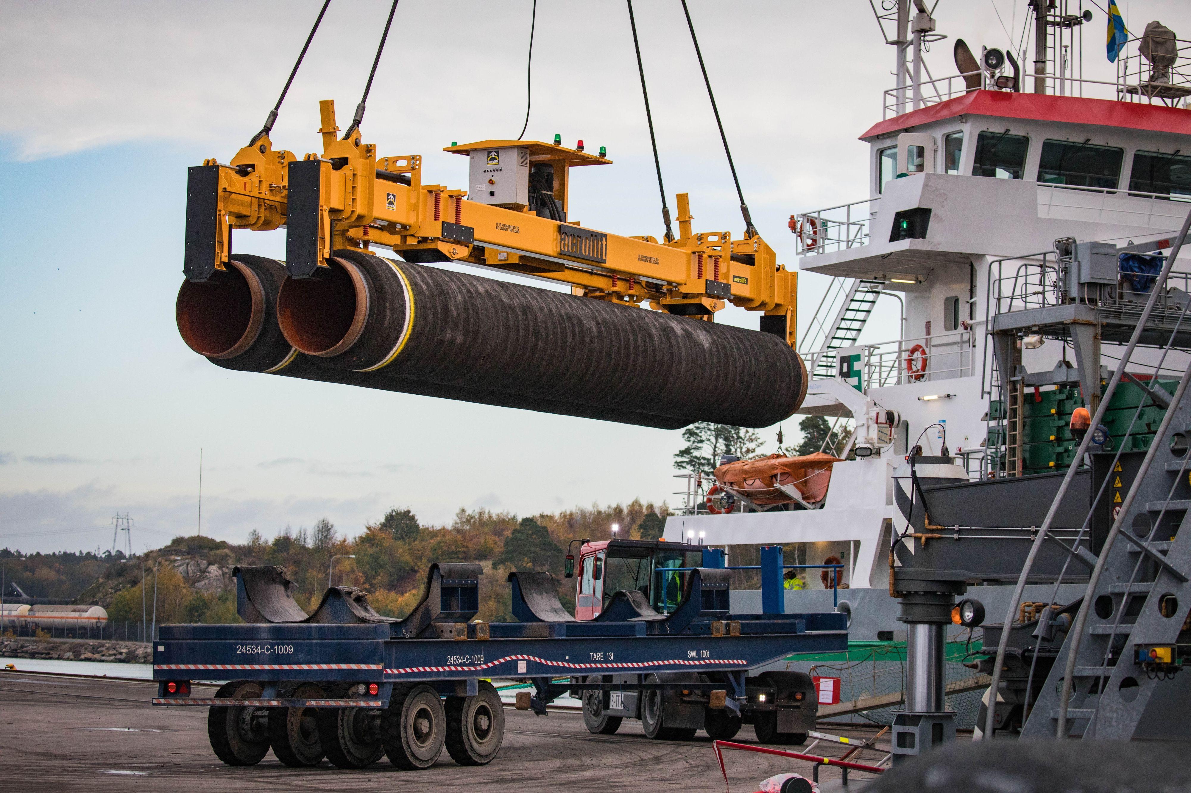 Gazociąg Nord Stream 2 jest już niemal gotowy (fot. Nord Stream 2)