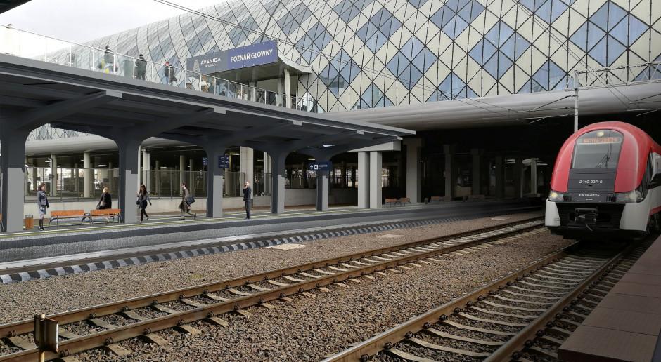 Blisko 100 mln złotych na rozbudowę stacji Poznań Główny