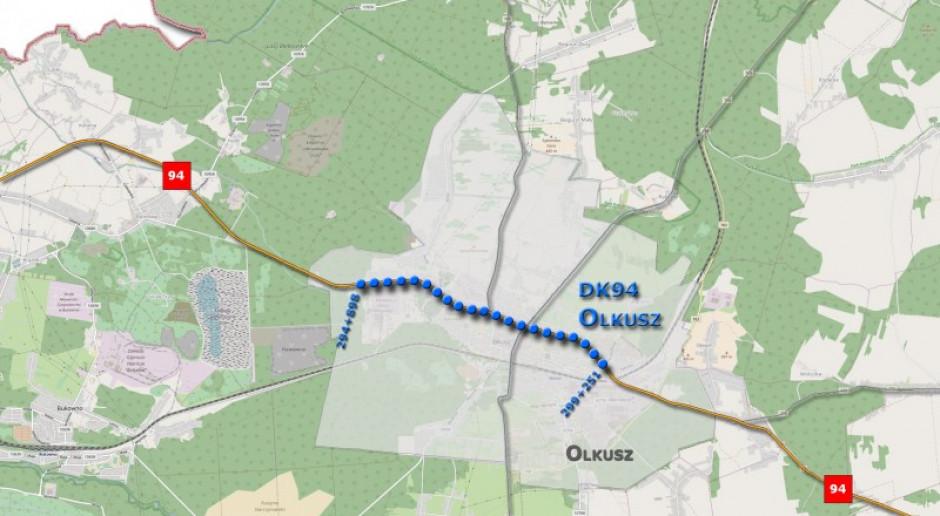 Cztery oferty na rozbudowę drogi nr 94 w Olkuszu