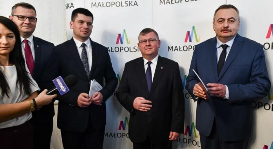 Będzie koncepcja nowej linii kolejowej z Krakowa do Myślenic