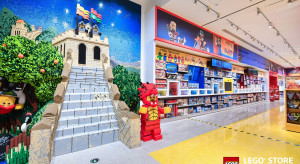 Lego rośnie jak na drożdżach. 80 sklepów w Chinach w 2019 roku