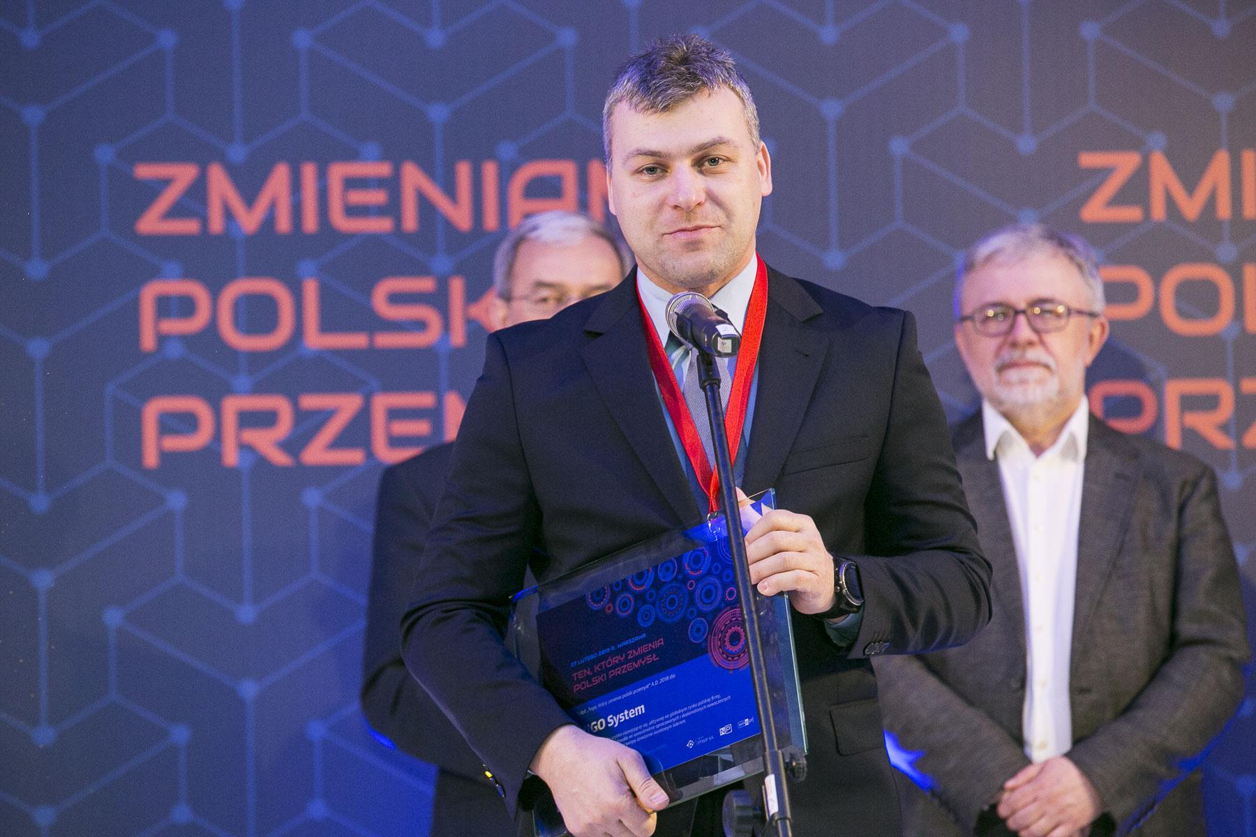 Adam Piotrowski, prezes Vigo System