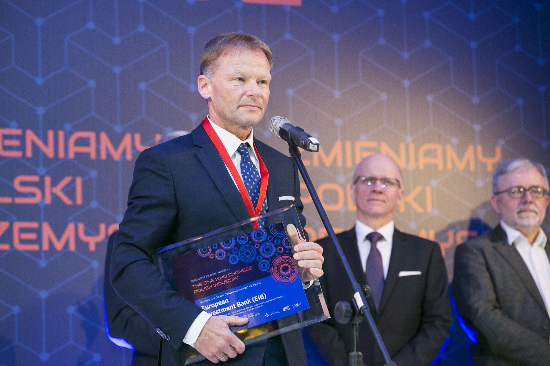 Vazil Hudák, wiceprezes Europejskiego Banku Inwestycyjnego