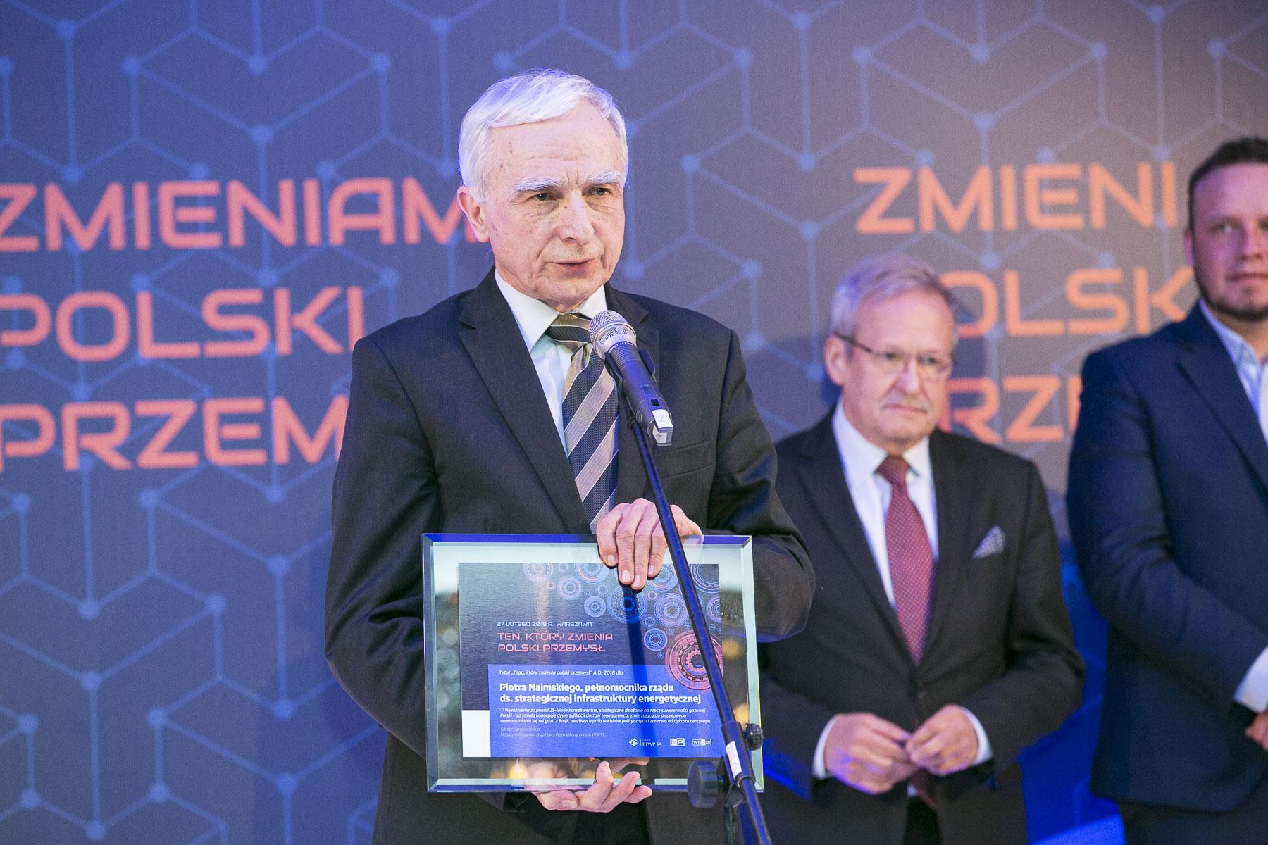 Piotr Naimski, pełnomocnik rządu do spraw strategicznej infrastruktury energetycznej oraz energetycznej