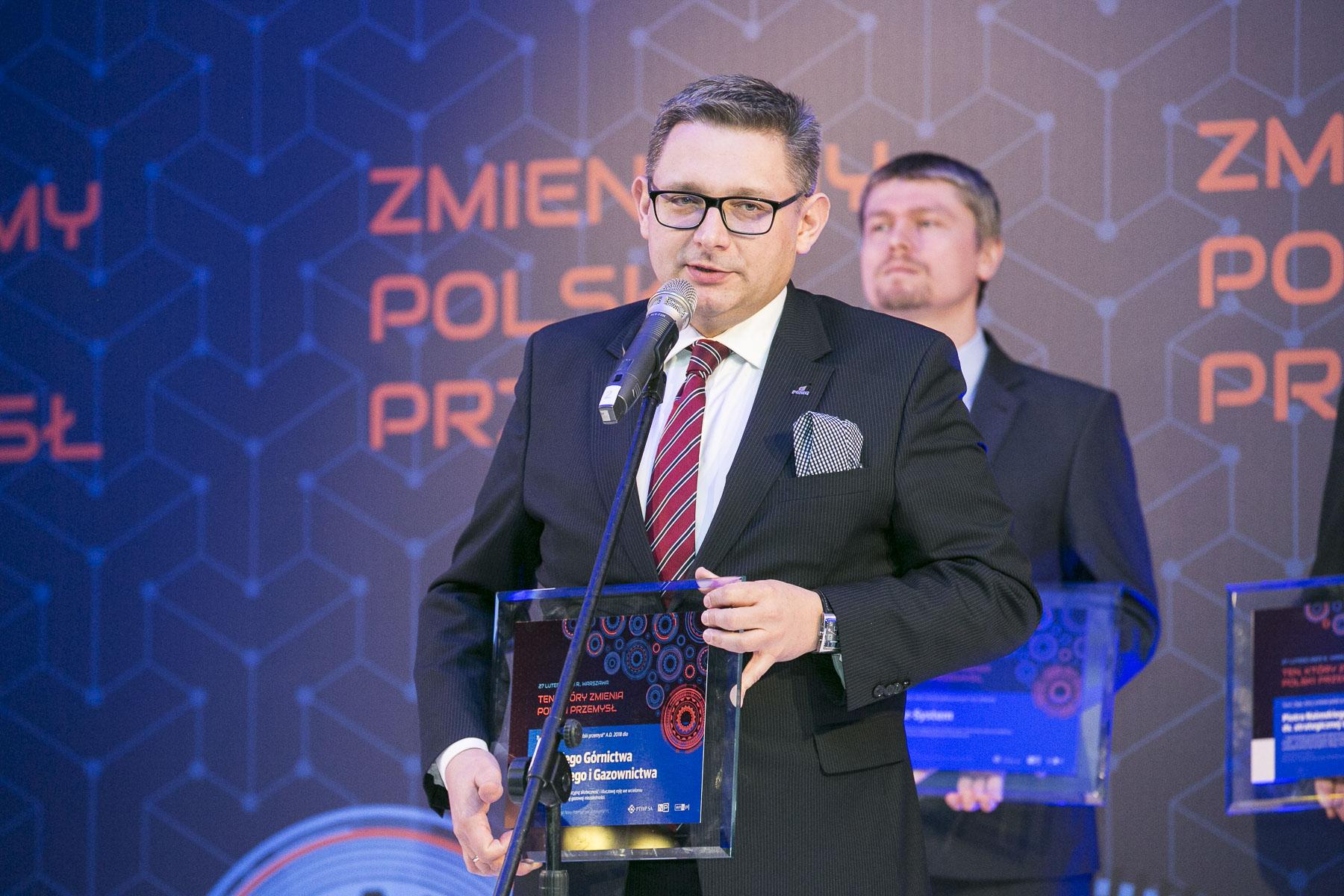 Wiceprezes PGNiG Maciej Woźniak