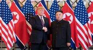 Zaskakujący finał spotkania Donalda Trumpa z Kim Dzong Unem