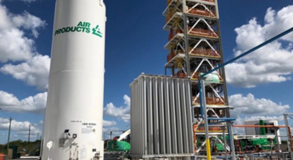 Air Products zamierza mocno zredukować emisje CO2