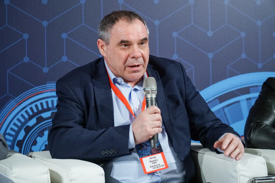Jerzy Kozicz, prezes CMC Zawiercie. Fot. PTWP