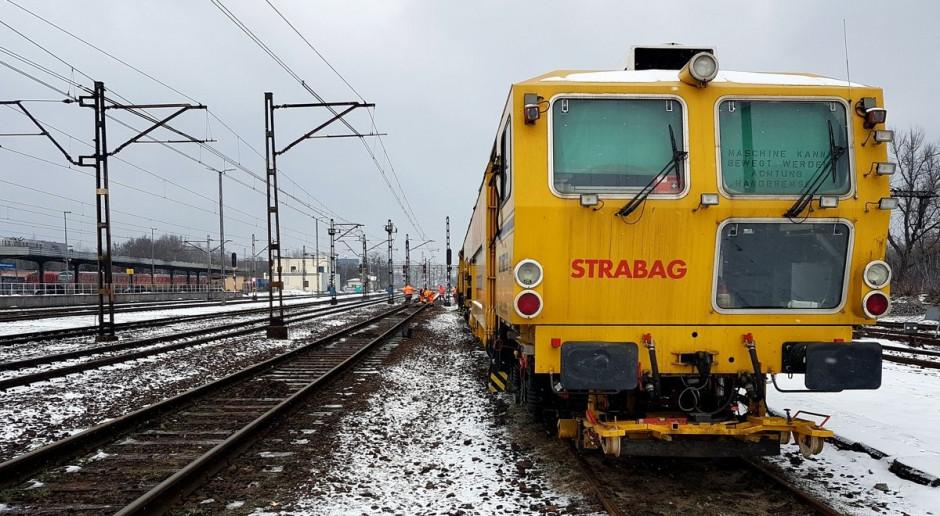 Strabag ma kolejowe kontrakty na linii Poznań - Szczecin za 1 mld zł