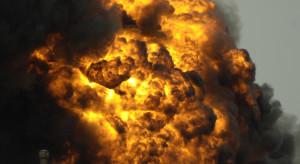 Seria wybuchów w składzie amunicji. Jest ofiara śmiertelna i wielu rannych