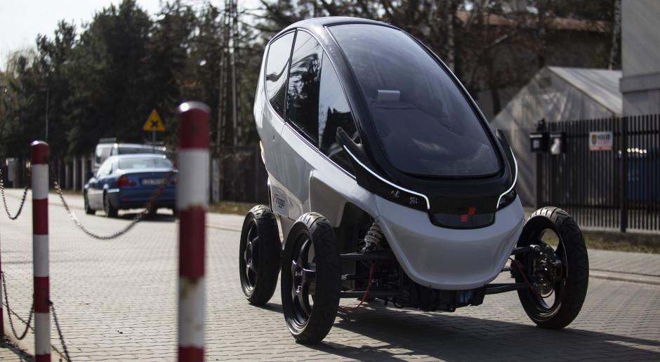 Są pieniądze na rozwój elektrycznego pojazdu Triggo