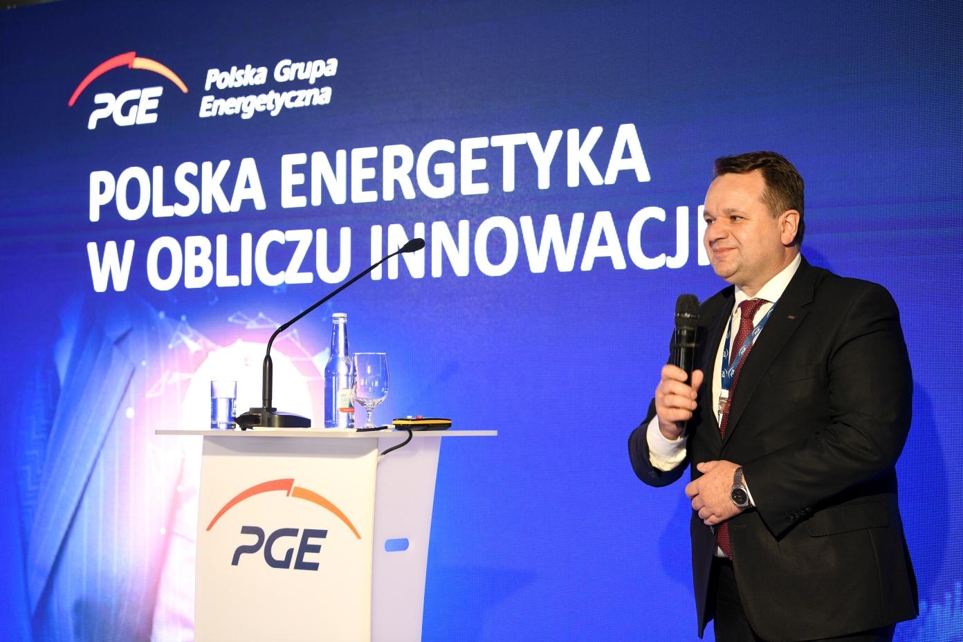 Paweł Śliwa, wiceprezes zarządu PGE ( Fot. mat. pras. PGE)
