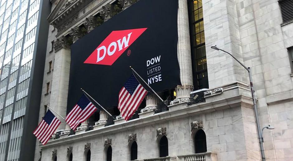 Akcje Dow ponownie na nowojorskiej giełdzie