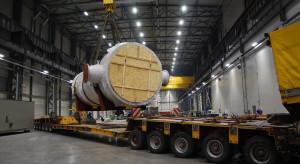 Dostarczyli drogą 105-tonowe urządzenie dla EC Żerań