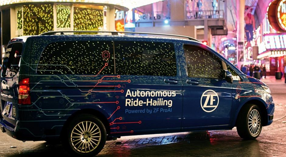ZF z największą w historii umową z BMW. W planach  autonomiczne minibusy