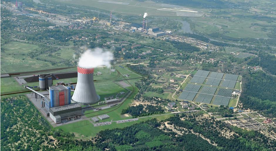 Jedna z wizualizacji Elektrowni Ostrołęka C, fot. mat. pras.