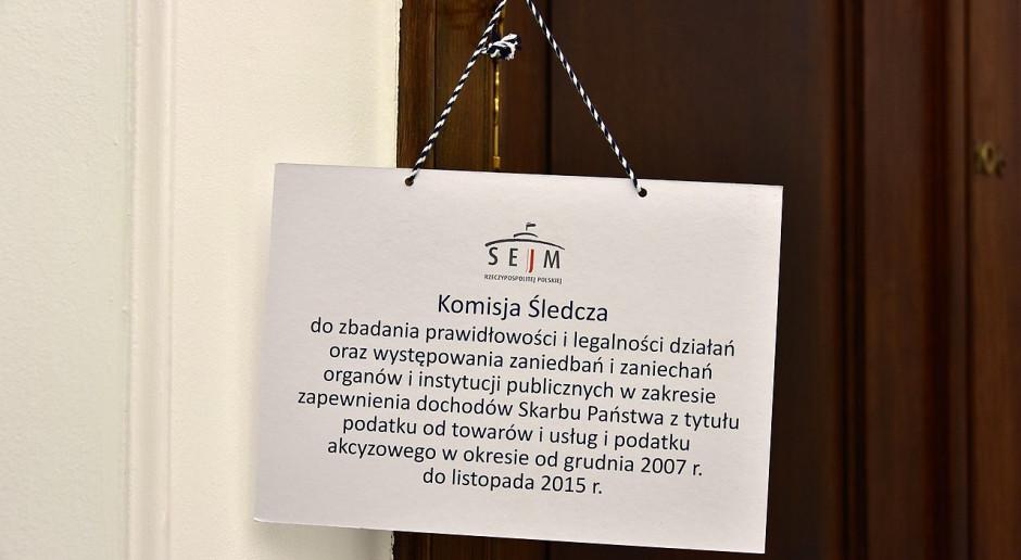 Na pierwsze efekty prac komisji śledczej ds. VAT trzeba jeszcze poczekać
