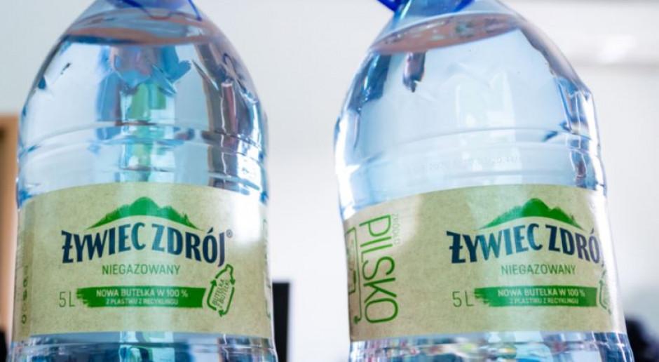 Rewolucja w butelkach plastikowych Żywiec Zdrój