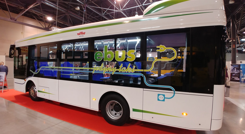 Elektryczne autobusy Rafako już w 2020 roku wyjadą na ulice?