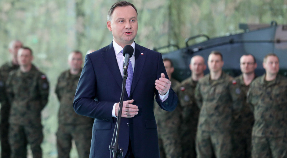 Prezydent złożył obietnicę w sprawie Sił Zbrojnych