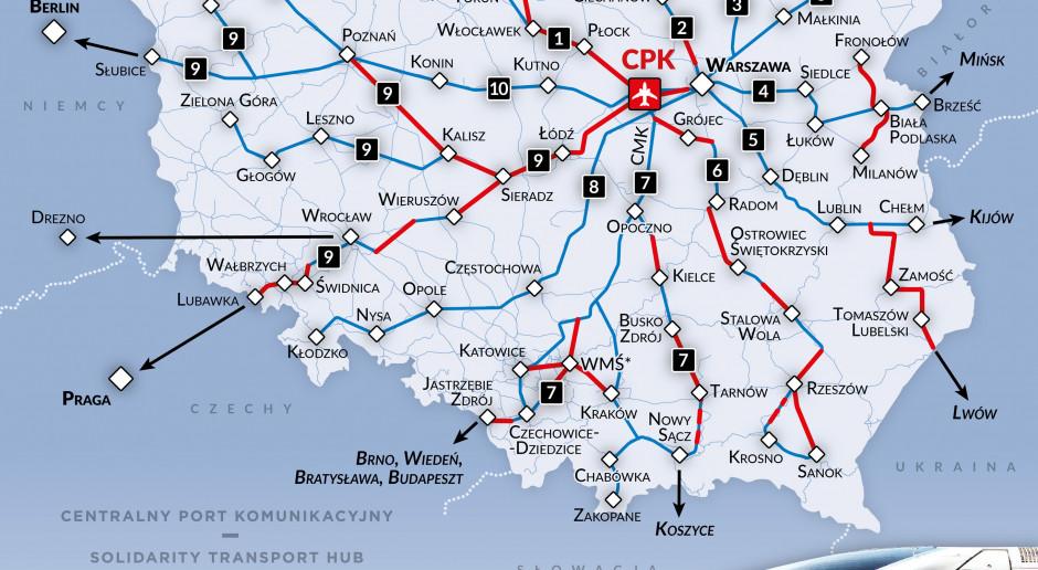 Jakie będą koleje dużych prędkości do Centralnego Portu Komunikacyjnego?