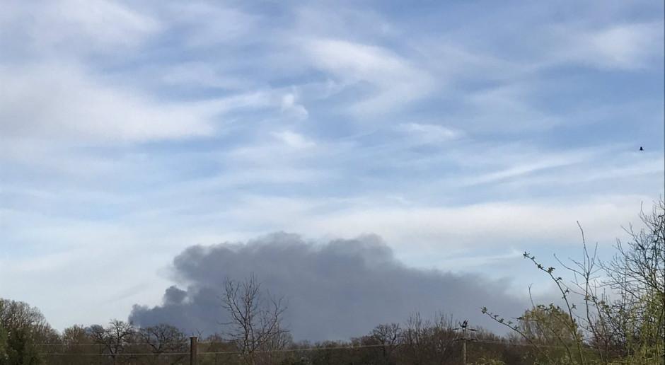 Pożar w Zakładach Azotowych Kędzierzyn