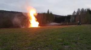 Wyciek ropy i pożar gazu w Małopolsce