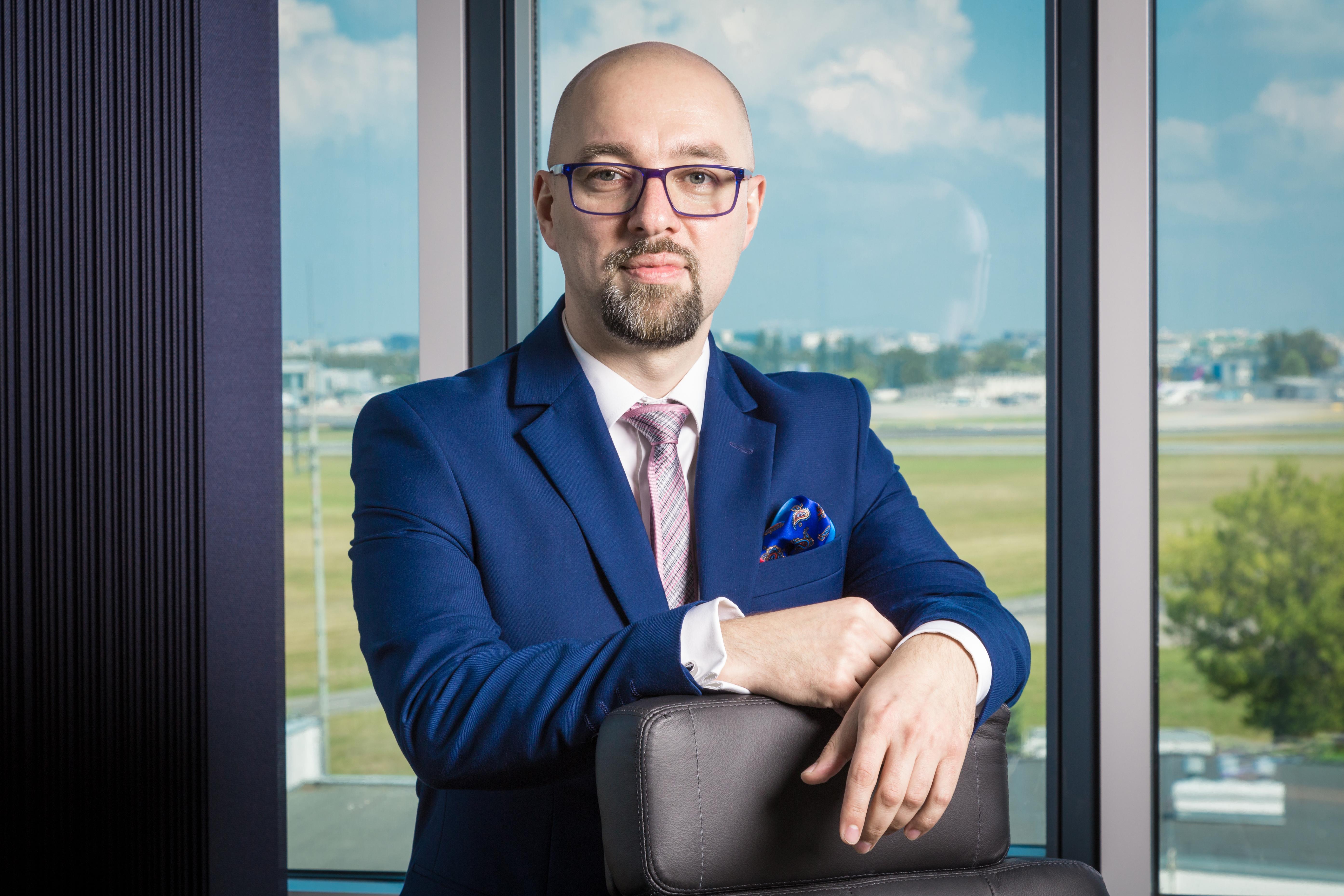 Janusz Janiszewski, prezes Polskiej Agencji Żeglugi Powietrznej.