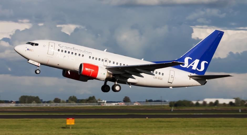Linie lotnicze SAS zwalniają tymczasowo 10 tys. osób z powodu epidemii Covid-19